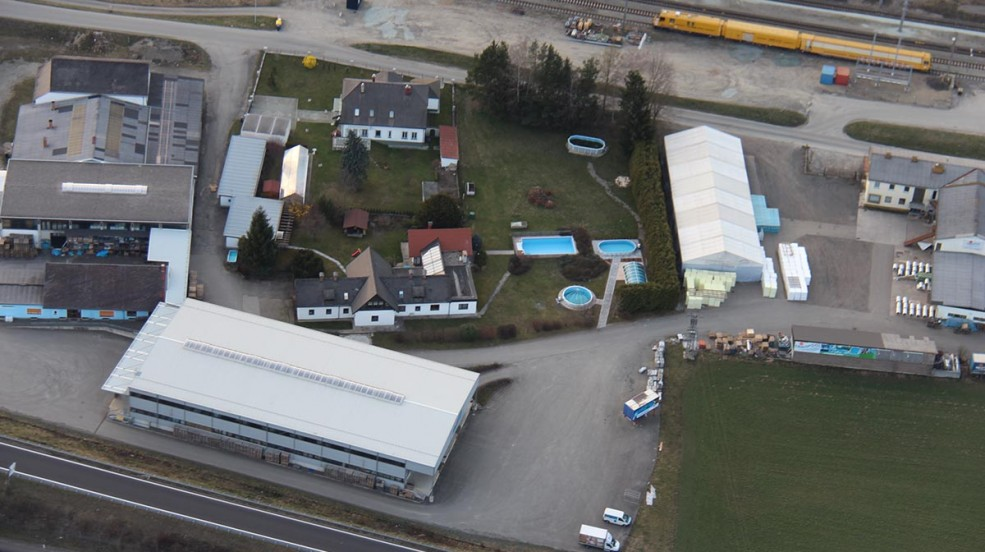 Cranpool Zentrale Kraubath Luftaufnahme