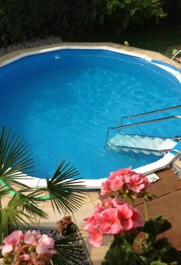Stahlwand schwimmbecken f r jeden garten cranpool royal for Pool stahlwand erfahrung