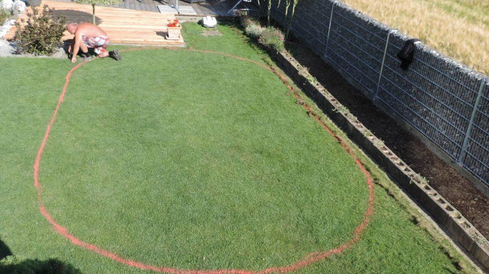 Montage und vorbereitung f r ihr pool cranpool for Garten pool eingraben