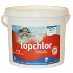 Cranpool Wasserpflege Topchlor in einem fünf Kilo Kübel