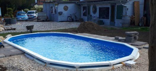 Schwimmbecken Royal oval von Cranpool
