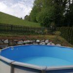 Cranpool Schwimmbecken Typ Rimini rund
