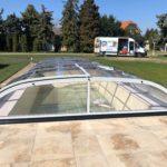 Swimmingpool Überdachung Cario Dom von Cranpool