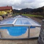 Cranpool Swimmingpoolüberdachung Cabrio Dom Typ Klassik